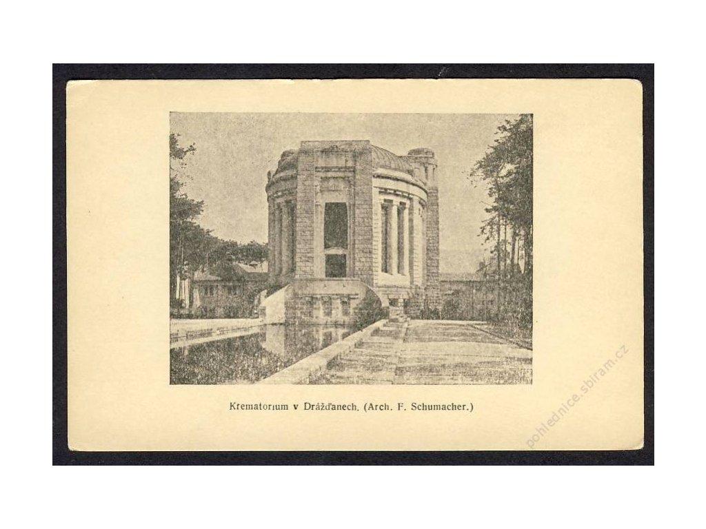 Deutschland, Dresden, Krematorium, cca 1921