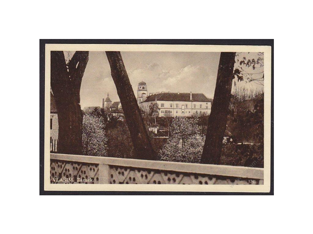 01 - Benešovsko, zámek Vlašim, cca 1925