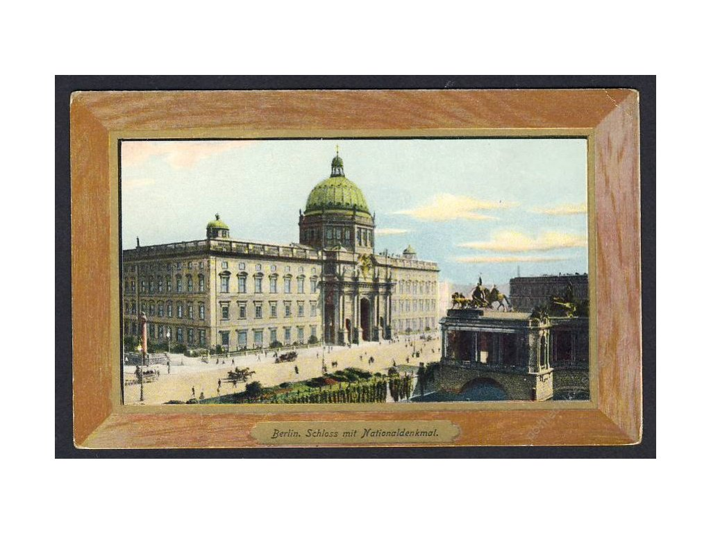 Deutschland, Berlin, Schloss mit Nationaldenkmal, cca 1910