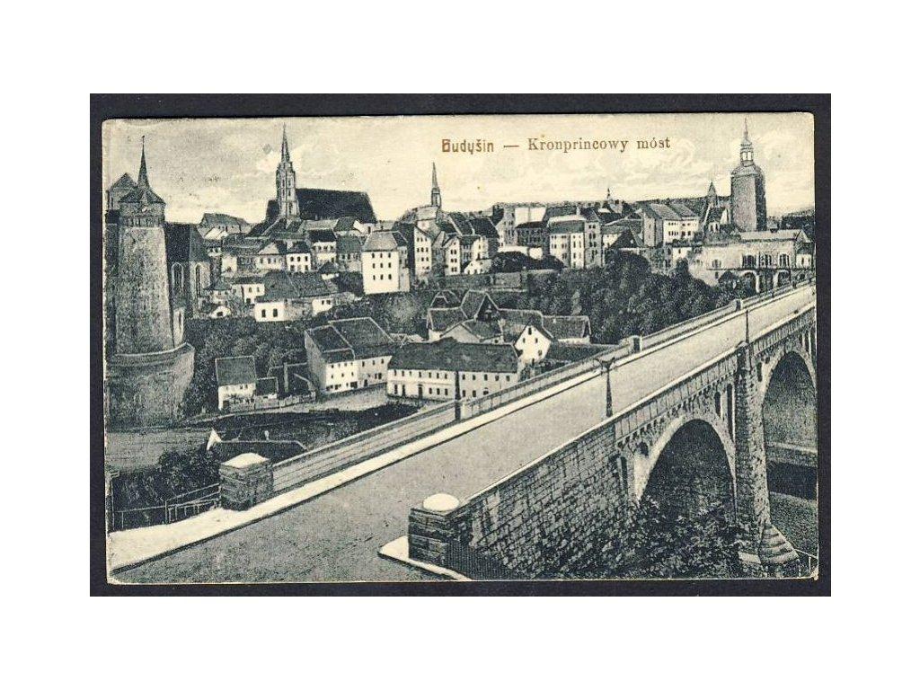 Deutschland, Bautzen, Kronprinzenbrücke, cca 1922