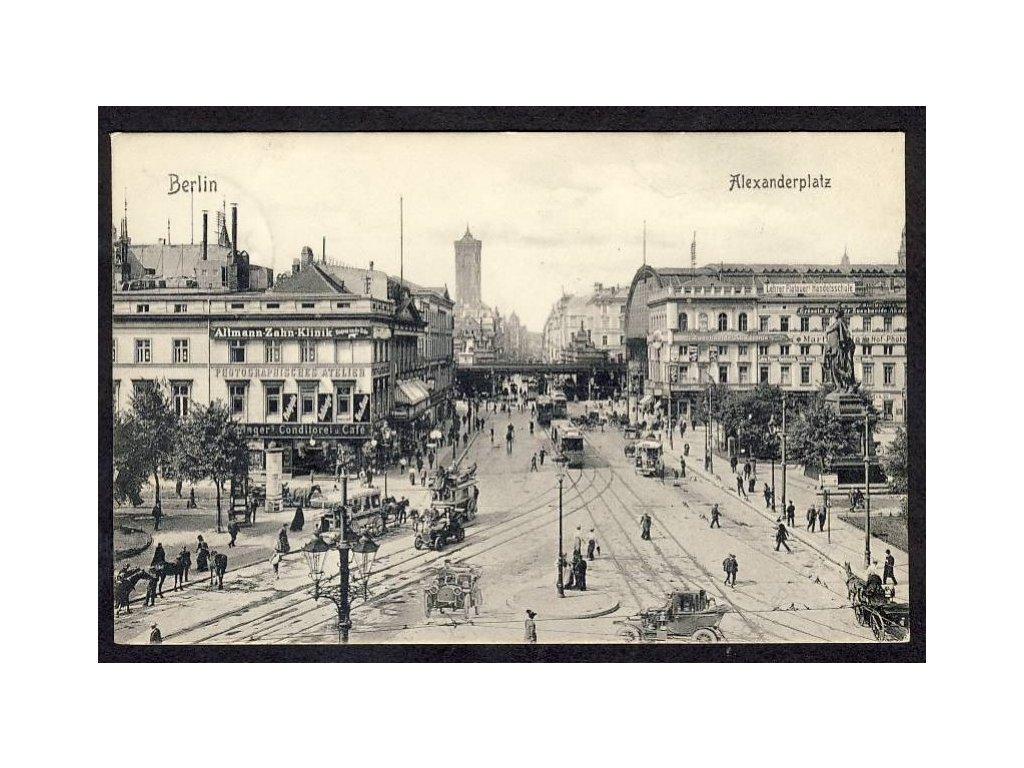 Deutschland, Berlin, Alexanderplatz, cca 1908
