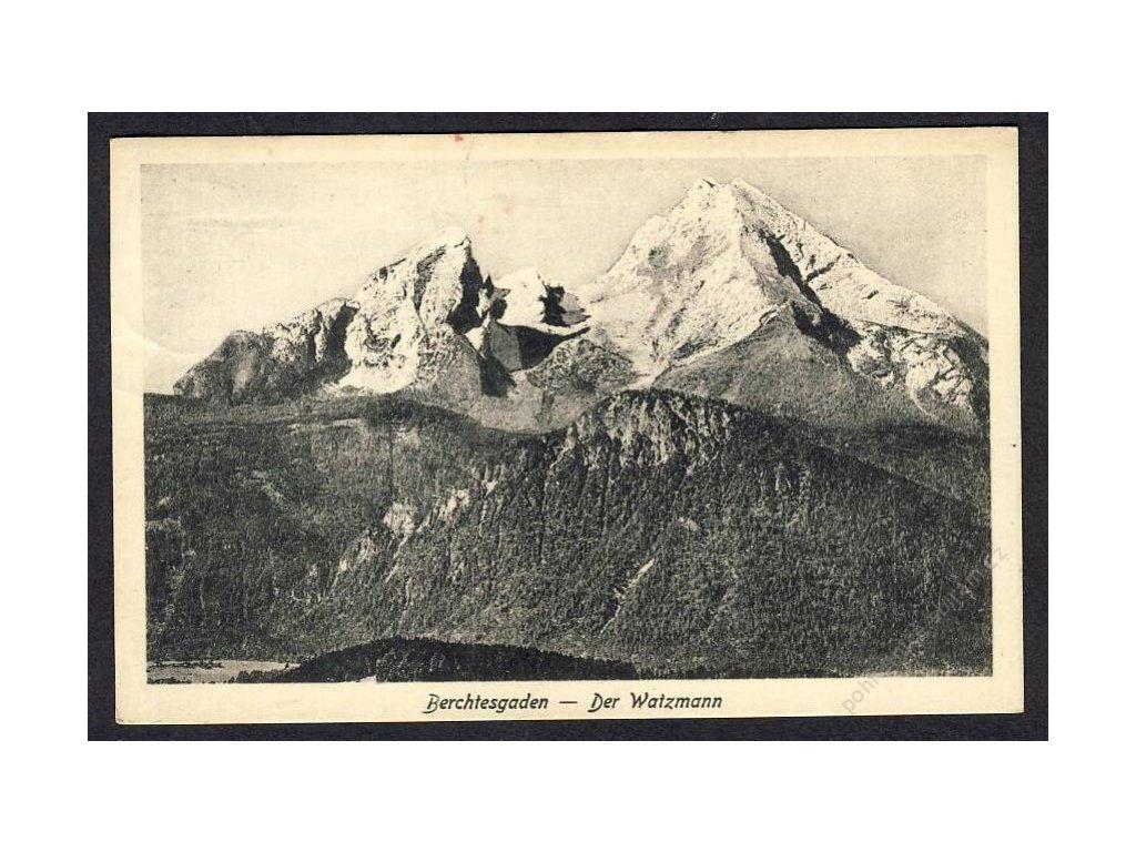 Deutschland, Berchtesgaden, Der Watzmann, cca 1925