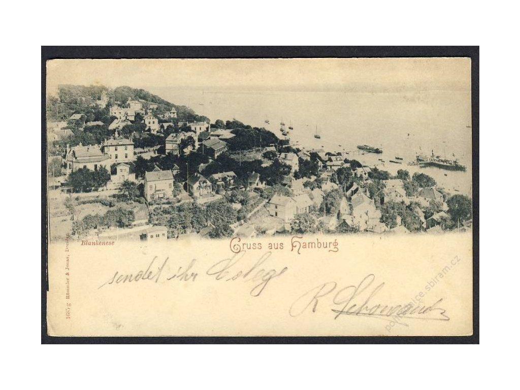 Deutschland, Gruss aus Hamburg, Blankenese, cca 1898