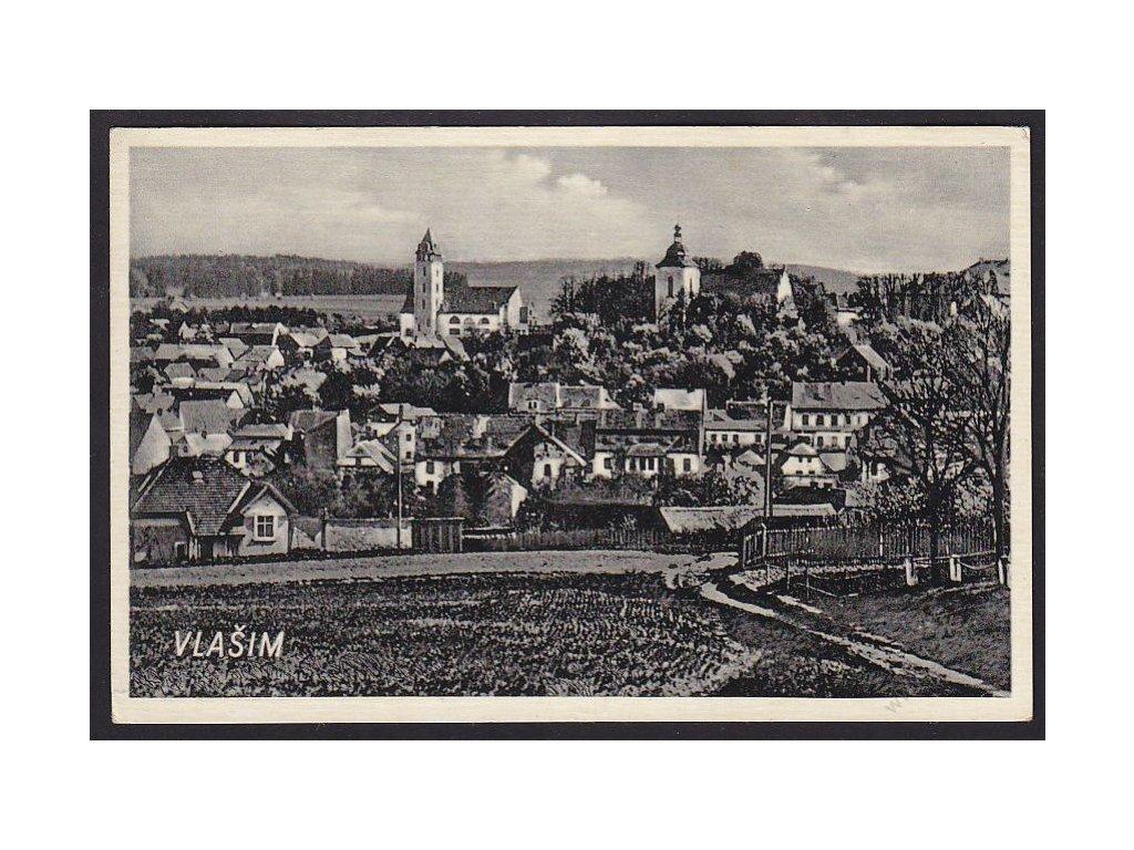 01 - Benešovsko, Vlašim, nakl. F.K.V., cca 1930