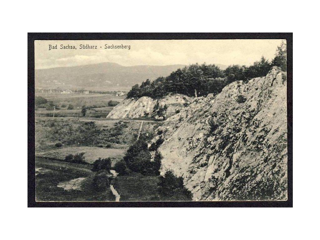 Deutschland, Bad Sachsa, Südharz - Sachsenberg, cca 1937