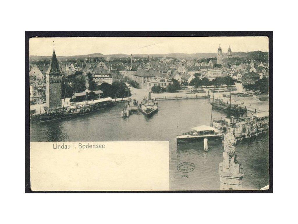Deutschland, Lindau i. Bodensee, cca 1906