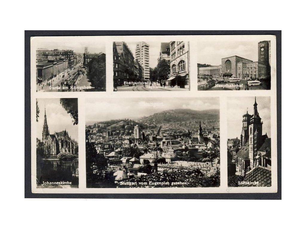 Deutschland, Stuttgart, Teilansichten, cca 1940