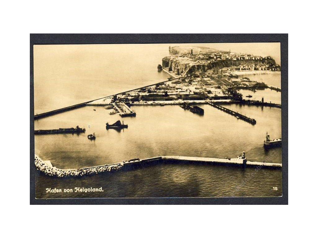 Deutschland, Hafen von Helgoland, cca 1915