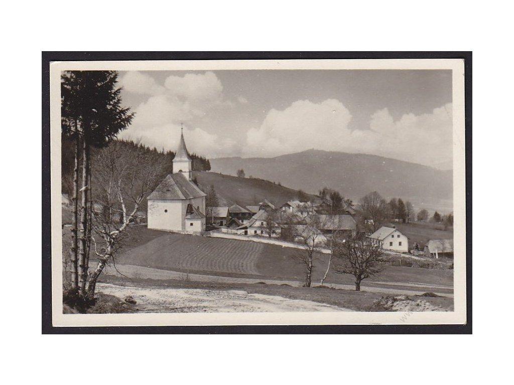 28 - Šumava, Hojsova Stráž, cca 1946