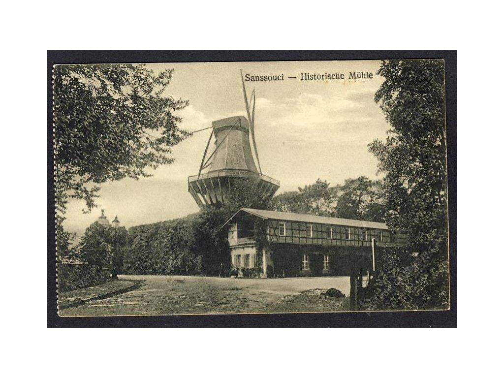 Deutschland, Sanssouci - Historische Mühle, cca 1927