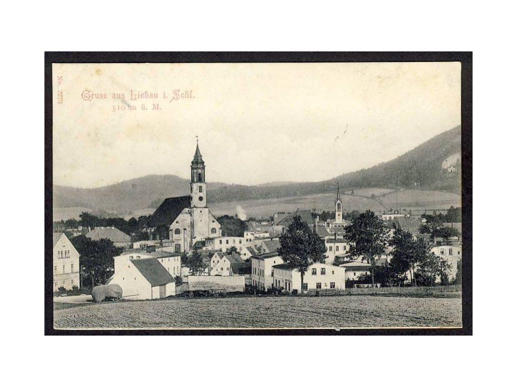 Deutschland, Gruss aus Liebau i. Schl., cca 1907