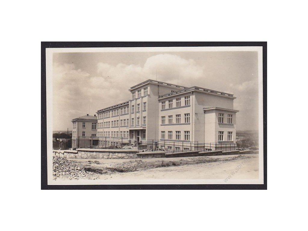 58 - Semilsko, Turnov, státní reálka, cca 1931