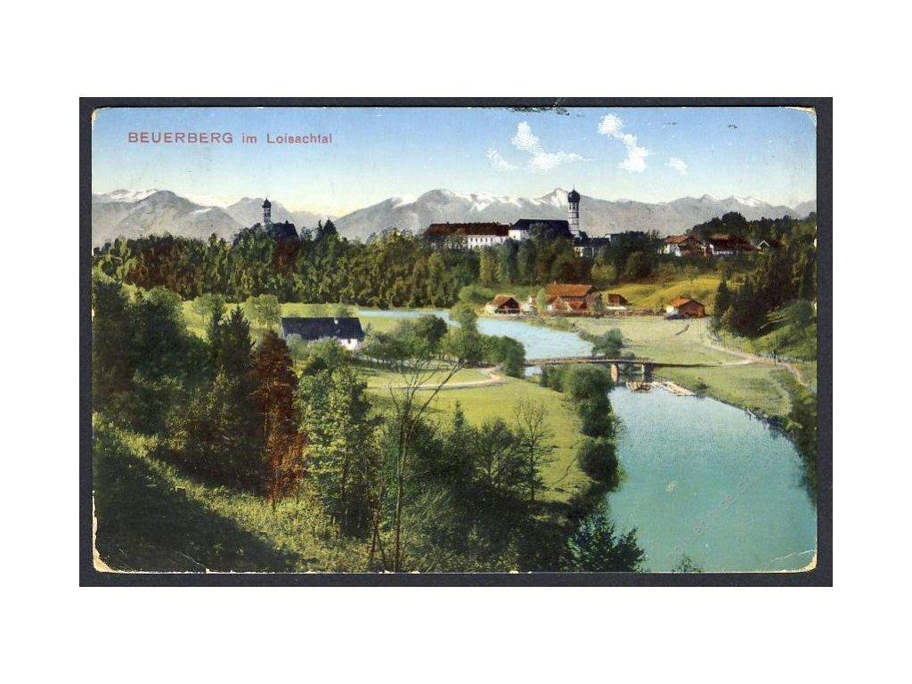 Deutschland, Beuerberg im Loisachtal, cca 1908