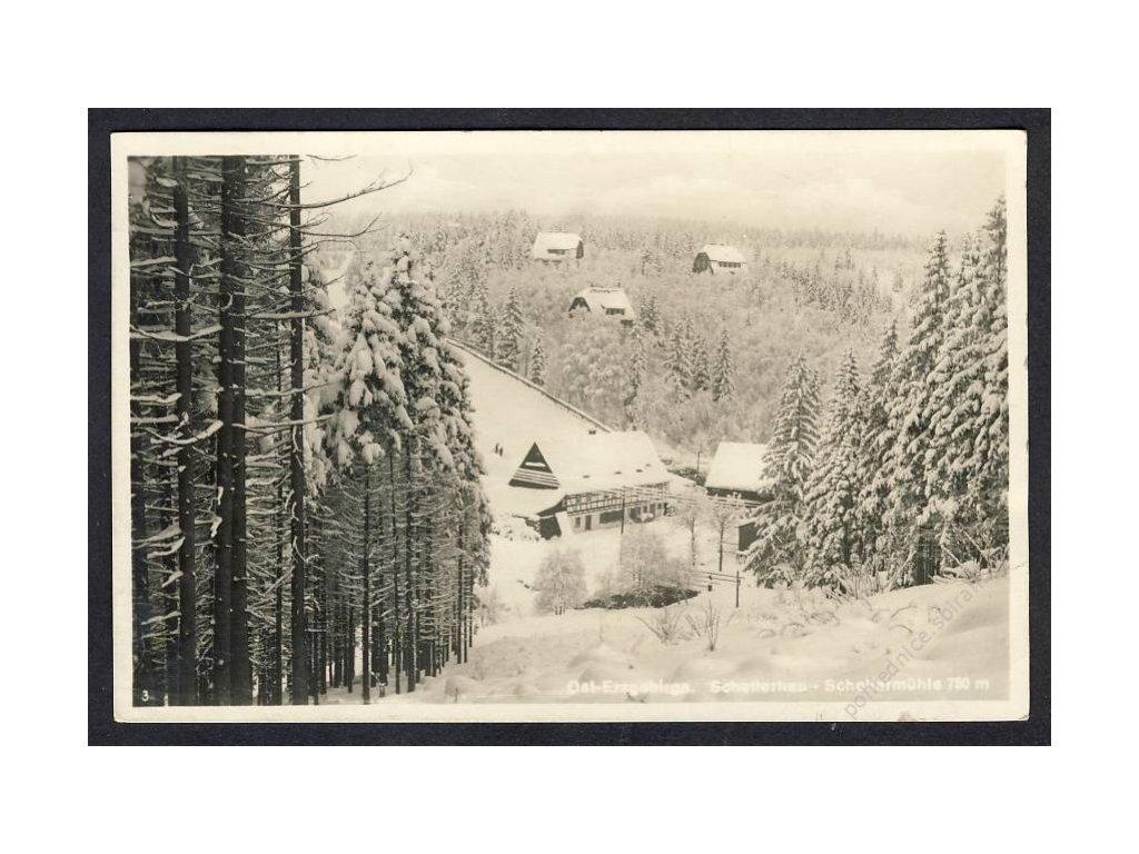 Deutschland, Ost-Erzgebirge, Schellerhaus-Schellermühle, cca 1931