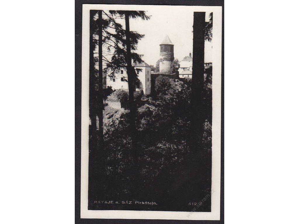 31 - Kutnohorsko, Rataje nad Sázavou, Pirkštejn, foto Fon, cca 1930