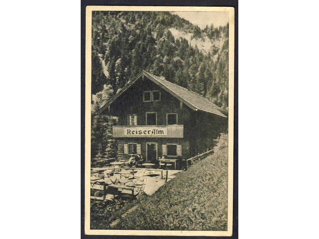 Deutschland, Reiser Alm, cca 1925