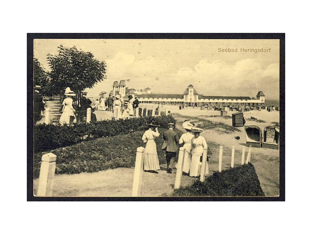 Deutschland, Seebad Heringsdorf, cca 1920
