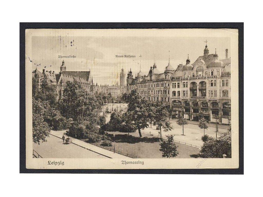 Deutschland, Leipzig, Thomasring, cca 1915