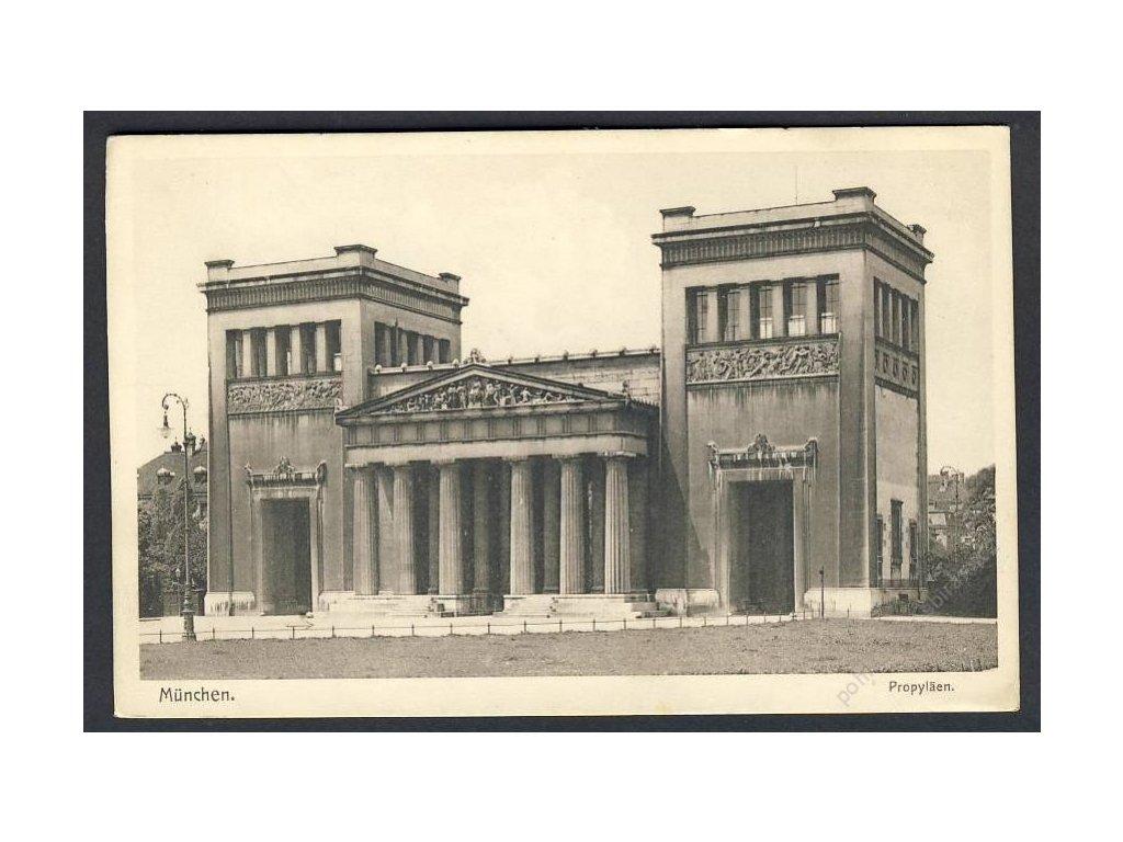 Deutschland, München, Propyläen, cca 1925