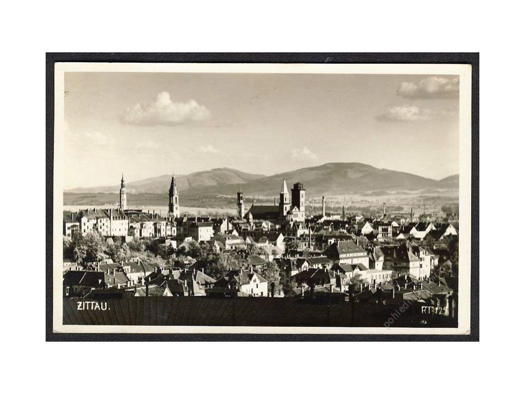 Deutschland, Zittau, Panorama, cca 1930