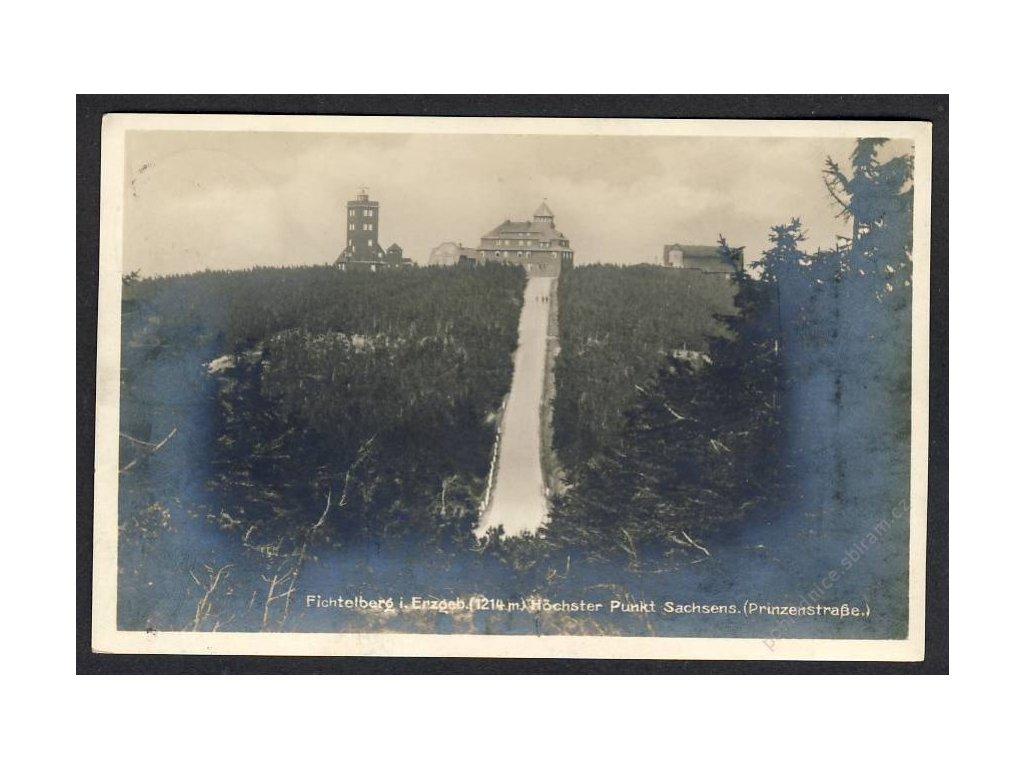 Deutschland, Fichtelberg i. Erzgeb., höchster Punkt Sachsens, cca 1930