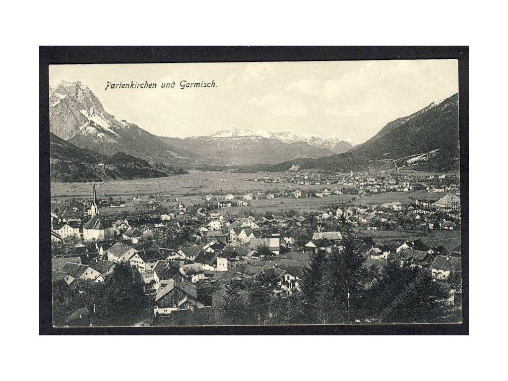 Deutschland, Partenkirchen und Garmisch, cca 1908