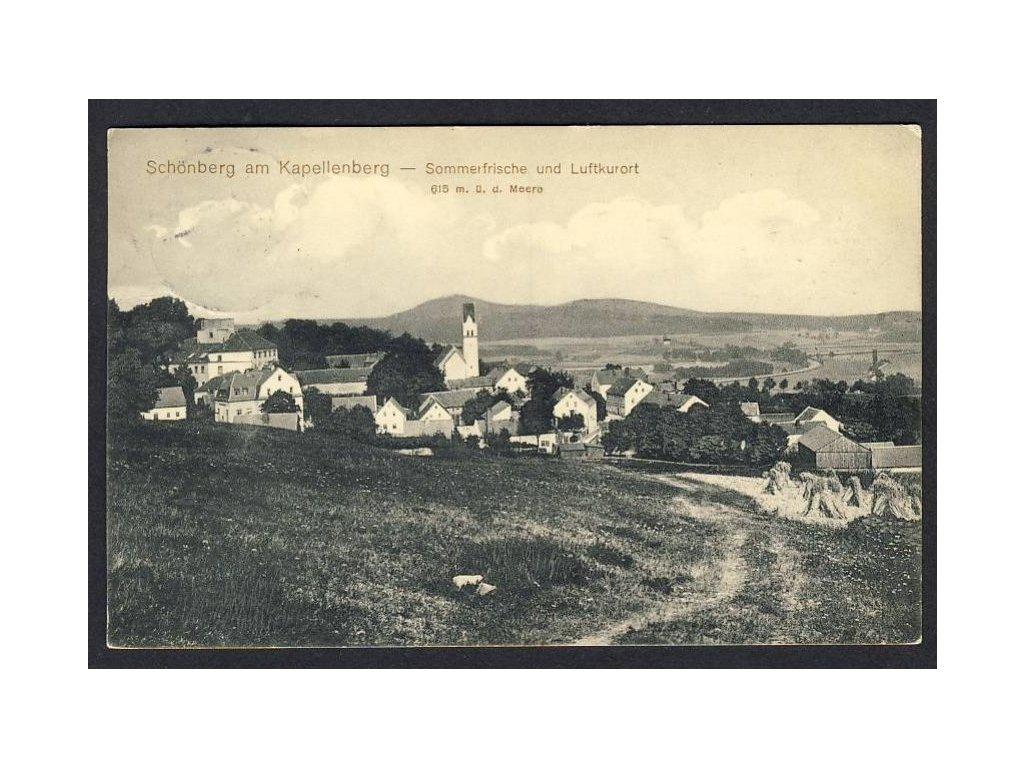 Deutschland, Schönberg am Kapellenberg, Sommerfrische u. Luftkurort, cca 1912