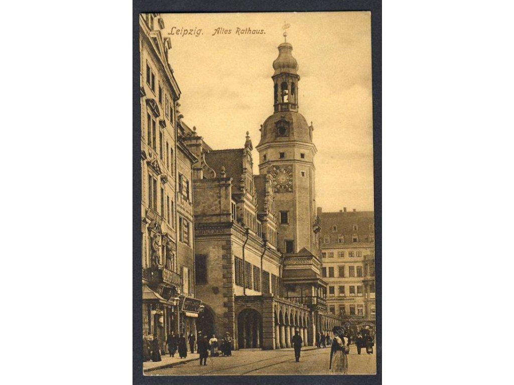Deutschland, Leipzig, Altes Rathaus, cca 1920