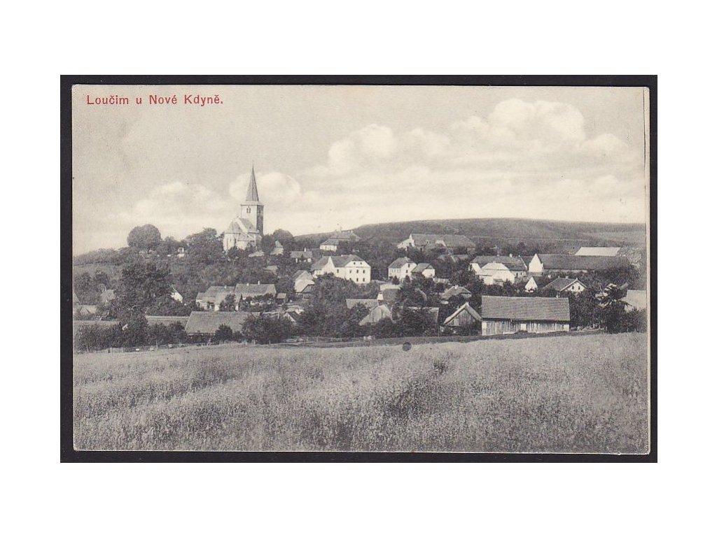 15 - Domažlicko, Loučim u Nové Kdyně, cca 1910