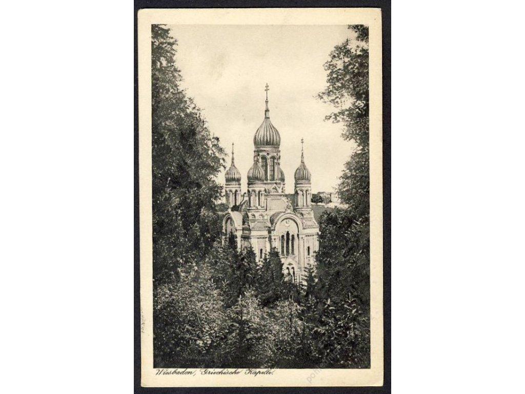 Deutschland, Wiesbaden, Griegische Kapelle, cca 1931