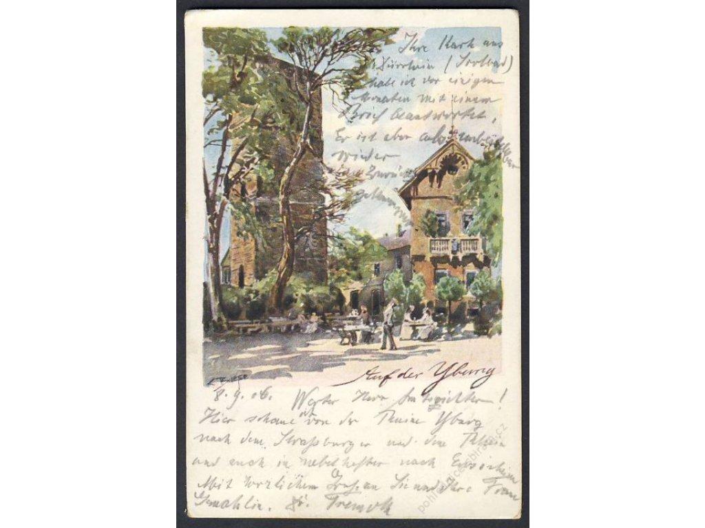 Deutschland, Biese, Auf der Uburg, cca 1906