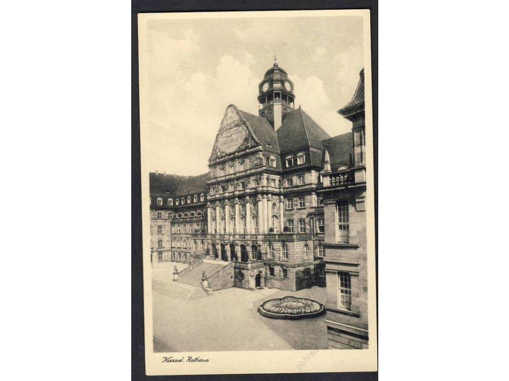 Deutschland, Kassel, Rathaus, cca 1930