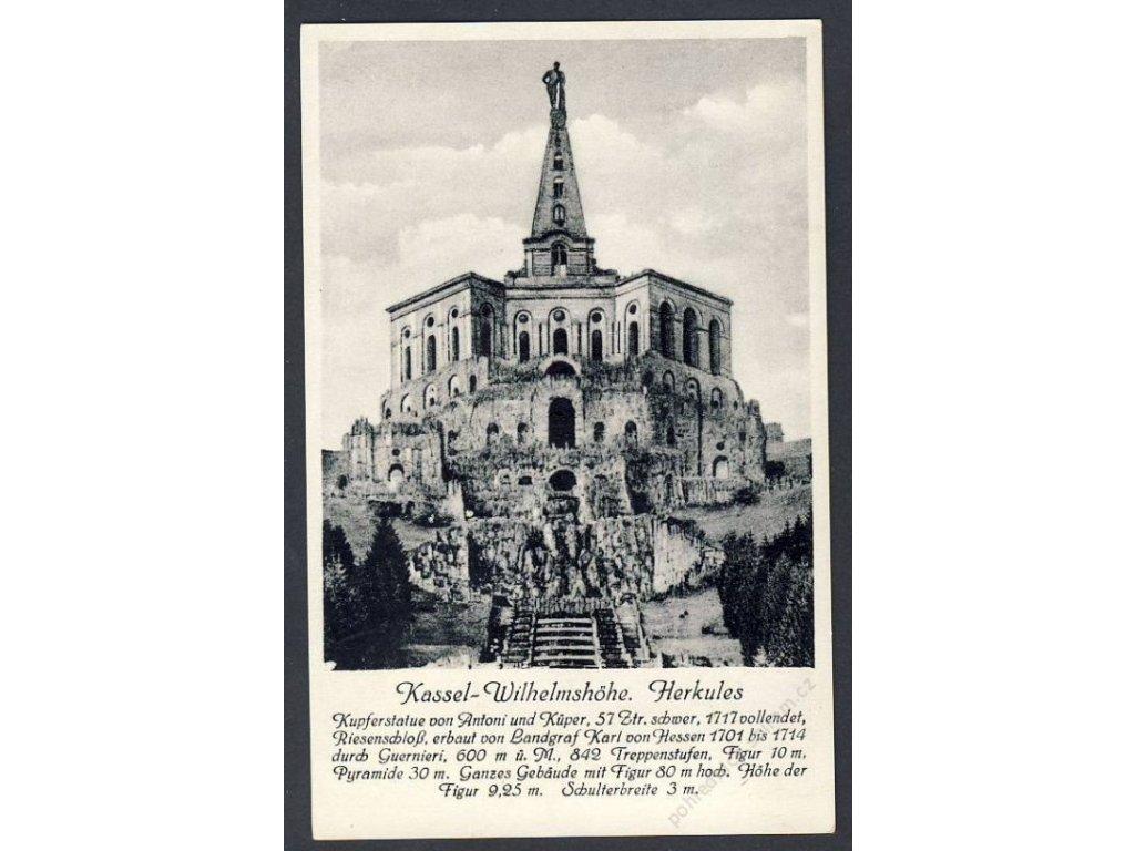 Deutschland, Kassel-Wilhelmshöhe, Herkules, cca 1930