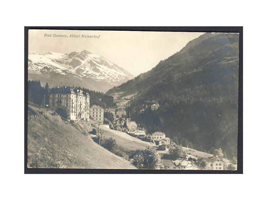 Österreich, Bad Gastein, Hotel Kaiserhof, cca 1910