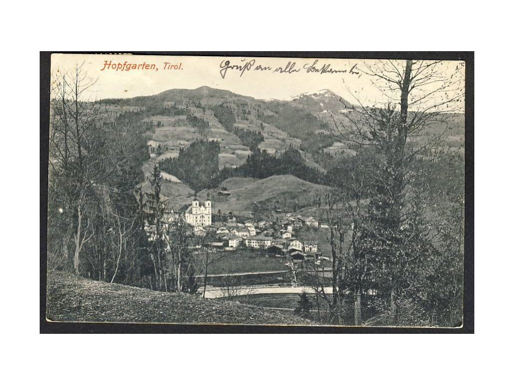 Österreich, Hopfgarten, Tirol, cca 1908