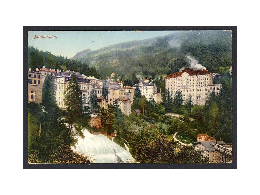 Österreich, Badgastein, Teilansicht, cca 1911
