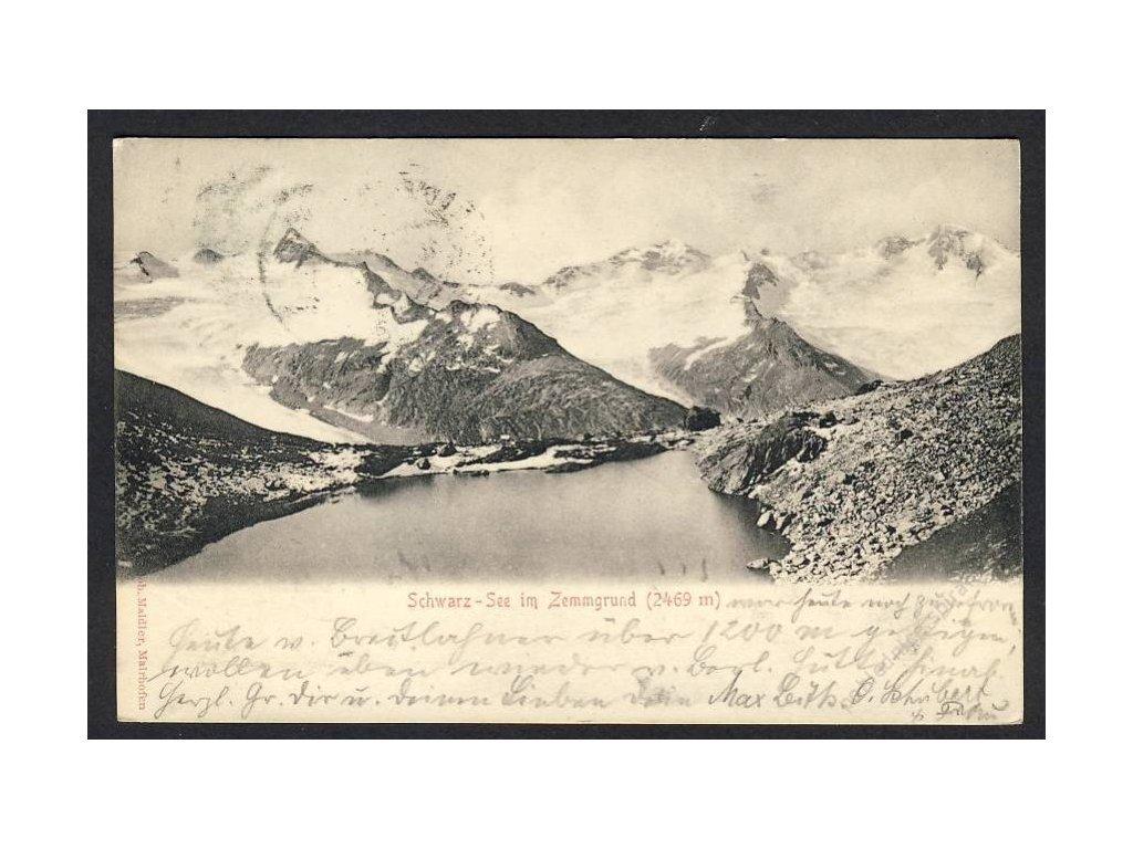 Österreich, Schwarz-See im emmgrund, cca 1900