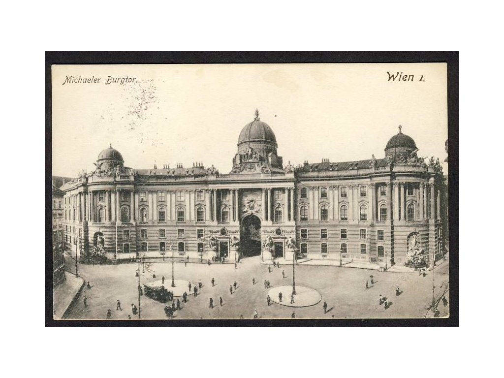 Österreich, Wien, Michaeler Burgtor, cca 1914
