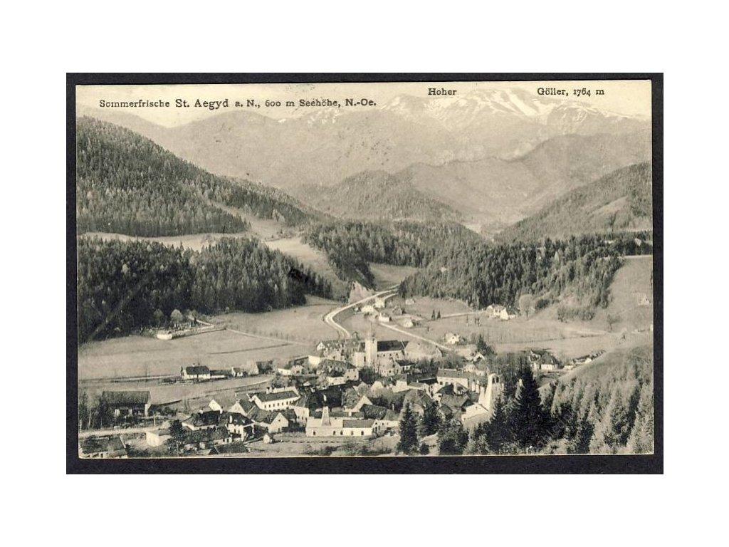 Österreich, Sommerfrische st. Aegyd a. N., N.-Oe., cca 1919