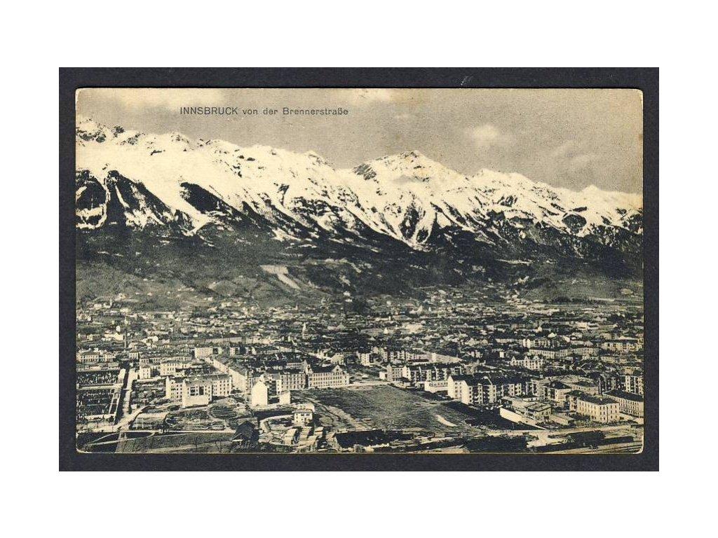 Österreich, Innsbruck von der Brennerstrasse, cca 1915