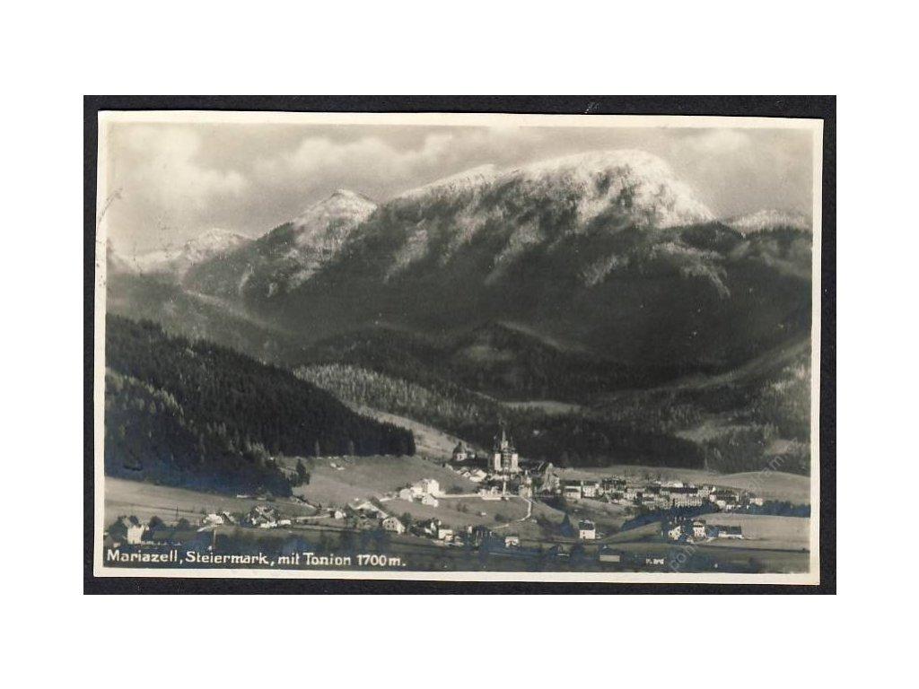 Österreich, Mariazell, Steiermark, mit Tonion, cca 1924