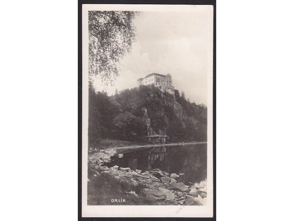 46 - Písecko, Orlík, foto Fon, cca 1935