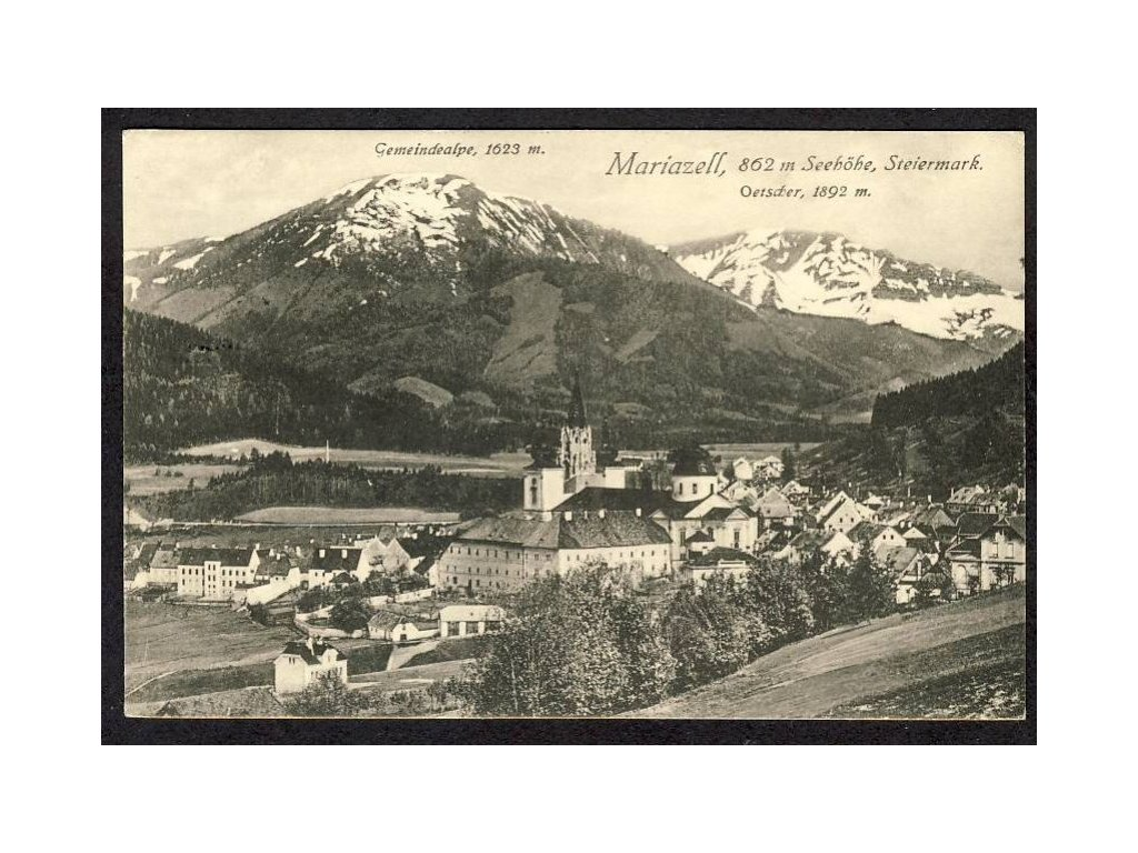 Österreich, Mariazell, Steiermark, cca 1923