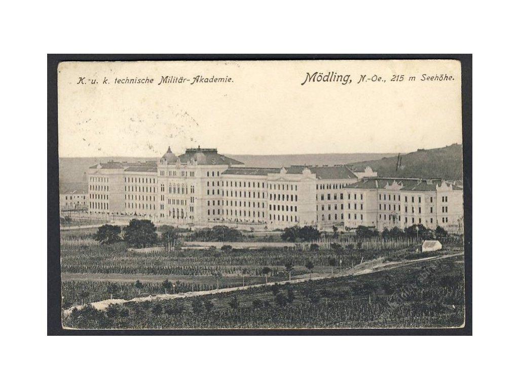 Österreich, Mödling, K. u. k. technische Militär-Akademie, cca 1910
