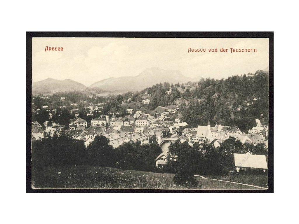 Österreich, Aussee von der Tauscherin, cca 1908