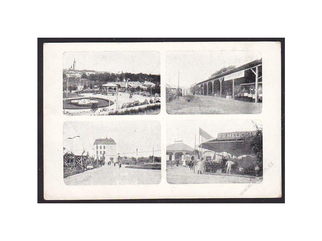 46 - Písek, jubilejní výstava 1912, nakl. Hofman, cca 1912