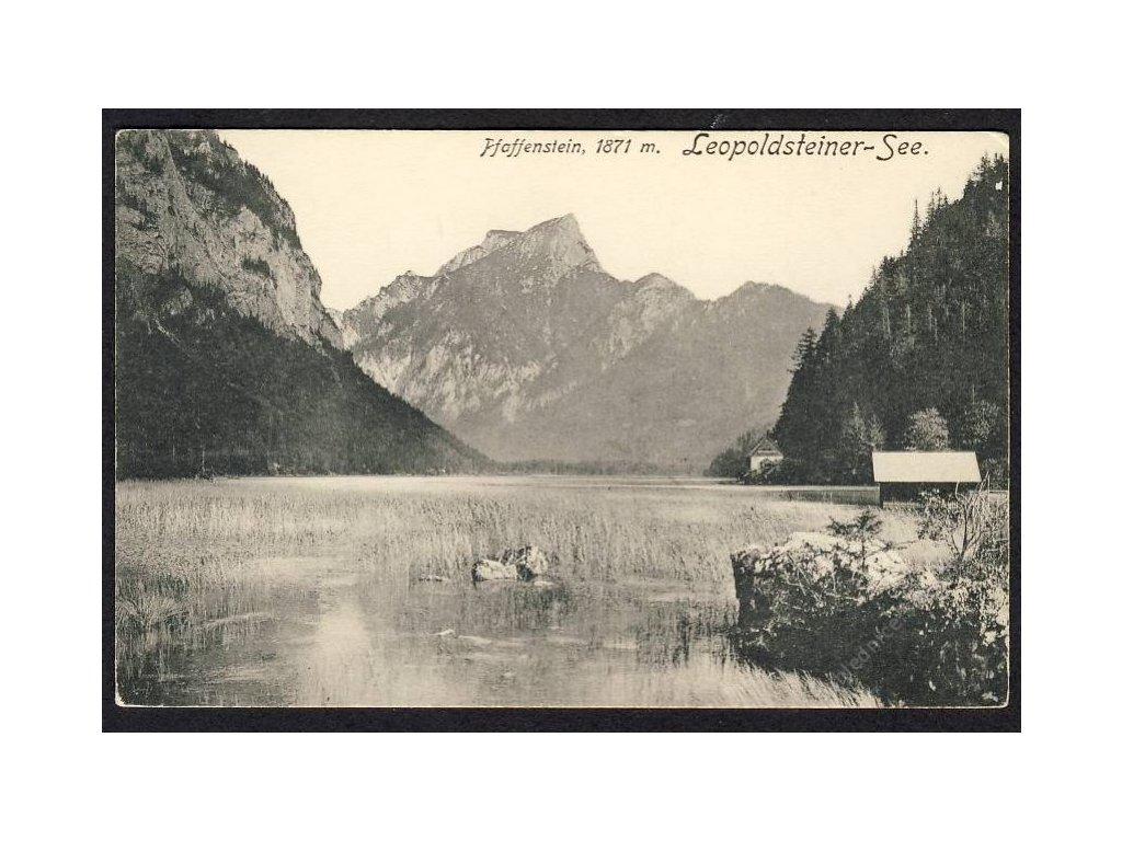 Österreich, Haffenstein, Leopoldsteiner-See, cca 1912