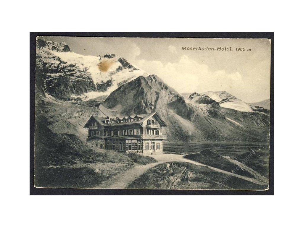 Österreich, Moserboden-Hotel, cca 1908