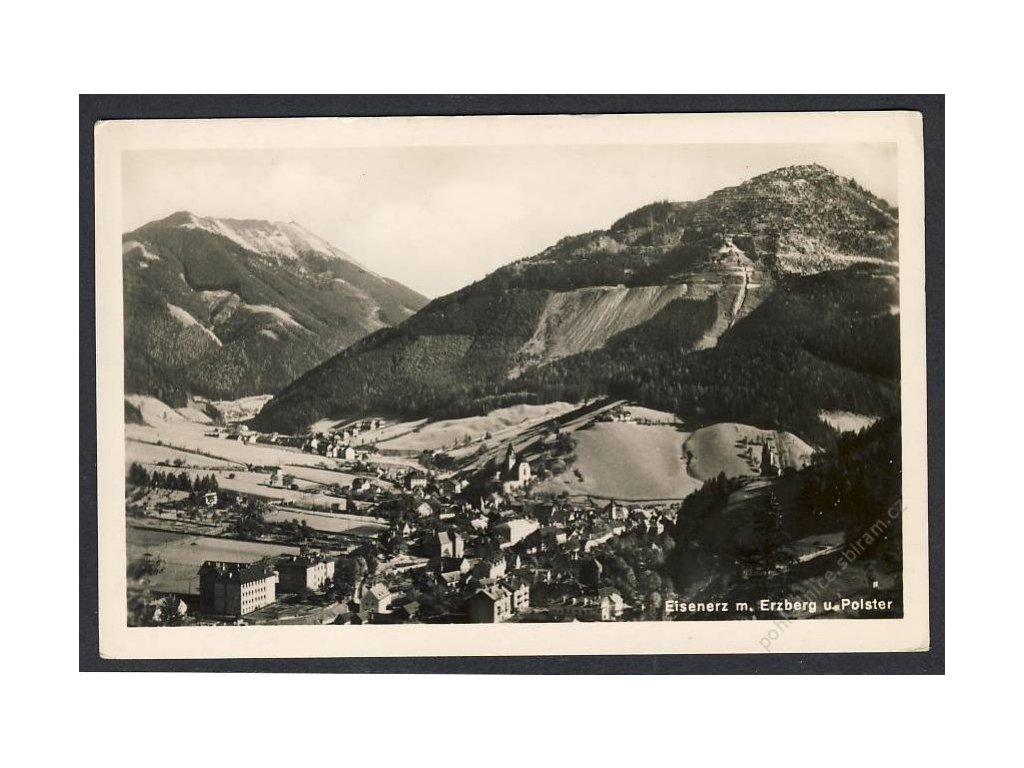 Österreich, Eisenerz m. Erzberg u. Polster, cca 1935