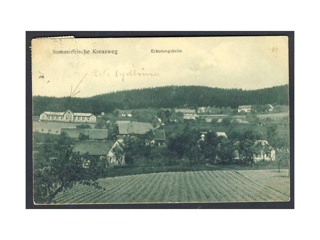 Österreich, Sommerfrische Kreuzweg, Erholungsheim, cca 1908